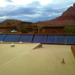 Solar Radiant Floor Heating & Pool Heating - Corby Olsen