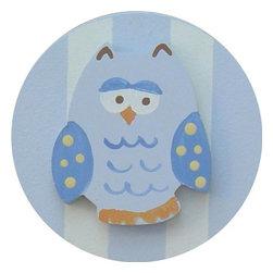 Wish Upon A Star - On Sale Blue Owl Drawer Knob - Blue Owl Drawer Knob