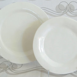 Seagate Dinner Plates - At amydutton Home you can find all sorts of home decor accessories! Our Seagate dinnerware set has everything you need for a simple yet elegant dining experience.