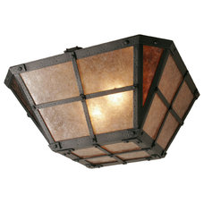 Rustic Flush-mount Ceiling Lighting by Steel Partners Inc