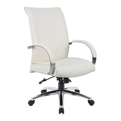 Boss Chairs Boss Chairs Boss B9431 Wt Caressoftplus