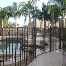 Contemporary Home Fencing And Gates by DCS Pool Barriers, LLC