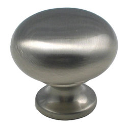 "Rusticware - 950 1 1/4"" Knob - Satin Nickel - This Satin Nickel cabinet knob is a versatile and stylish piece of hardware that will add to the decor of any room in your home. All Rusticware knobs and pulls come with standard 8/32"" screws and screws that are 1/2"" longer to fit most applications."