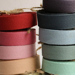Twill Ribbon - I love wrapping up presents, but the key is to find simple components that can package up quickly and also leave a big impact. My go-to for packaging is kraft paper and colorful ribbon or twine, like this twill ribbon.