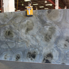 Traditional Kitchen Countertops by Omicron Granite & Tile