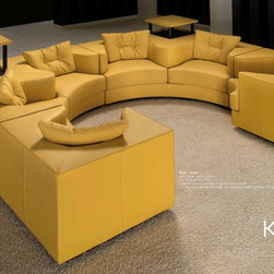 Tonino Lamborghini Furniture Collection - Tonino Lamborghini is a luxurious collection defined by comfort and style. They feature bold designs with rich vibrant colors and color combinations. The pieces look powerful and alive with these vibrant and rich colors; they are meant to go unnoticed into the décor.