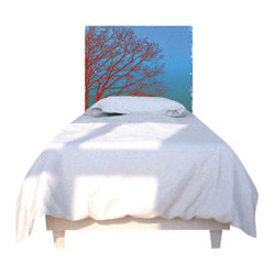 Orange Tree Headboard