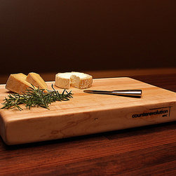 The Chop Cutting Board - The Chop cutting board is made from solid reclaimed bowling lane Maple, thoroughly cleaned and fabricated with FDA approved, eco-friendly adhesive. As seen on Jamie Deen's Home for Dinner on the Food Network.
