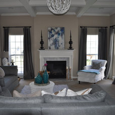 Transitional  by JWS Interiors