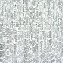 Walls Republic - Expression Grey Wallpaper R1394, Double Roll - Expression is a newsprint pattern collaged with text that has a textural look from a distance. It is contemporary wallpaper that will create a one-of-a-kind look in your living room.