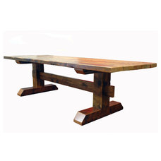 Rustic Dining Tables by EcoFirstArt