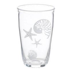 24 oz Acrylic Tumbler - Seashell Design 24 oz Acrylic Tumbler