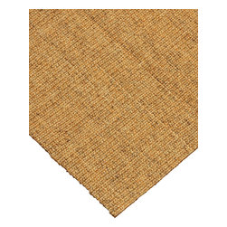 """Natural Area Rugs - """"Pavillion"""" Sisal Rug, 100% Natural Fiber - All natural sisal rug handcrafted by Artisan rug maker. Naturally durable and anti-static, this earth friendly rug is great for high traffic areas. Enjoy this self bound sisal rug with non-slip latex backing along with its stylish and contemporary look. Variations are part of the natural beauty of natural fiber. We recommend a rug pad as it will protect not only your rug but your hardwood floor as well."""