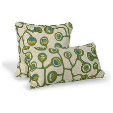 Eclectic Decorative Pillows by angela adams