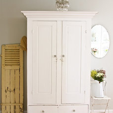 Armoires And Wardrobes Dreamy Whites - eclectic - family room - other metros - by Dreamy Whites