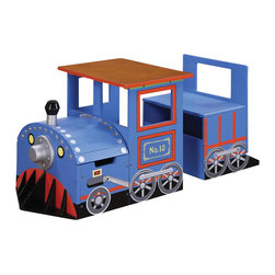 Teamson Design - Teamson Kids Safari Hand Painted Train Writing Table - Teamson Design - Kids' Table and Chair Sets - W8207A. Join our wonderful chairs with a table that brings life through the wonderful animal paintings! The pure texture will keep your little ones excited and bring life to every room!