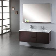 Modern Bathroom Vanities And Sink Consoles Matteo Modern Vanity by Virtu USA