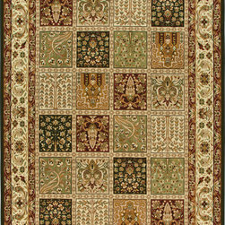 """Orian - Orian American Heirloom Madaline (Multi) 2'3"""" x 8' Rug - American Heirloom Collection, Orian Rugs' flagship collection is inspired by classic, hand-woven oriental rugs that combine understated elegance with classic style. The 1.5 million point design construction is densely woven with Orian's finest-denier yarns creating unparalleled visual dimension and pin point design clarity."""