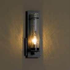 New Town Medium Seeded Glass Wall Sconce & Hubbardton Forge Sconces   YLighting