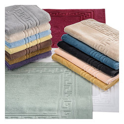 "Bed Linens - Egyptian Cotton 900GSM 2pc Bath Mat Set Bath Mat Silver - Set Includes:   Two Bath Mats 22""x35"" each"
