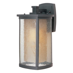 Maxim Lighting - Maxim Lighting 85654Cdwsbz Bungalow Ee 1-Light Wall Lantern - Maxim Lighting 85654CDWSBZ Bungalow EE 1-Light Wall Lantern