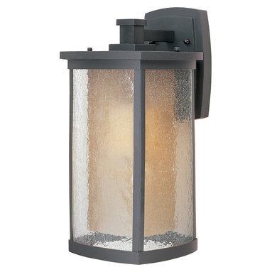 Maxim Lighting - Maxim Lighting 85654CdwSBZ Bungalow EE 1-Light Wall Lantern - Maxim Lighting 85654CDWSBZ Bungalow EE 1-Light Wall Lantern