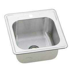 Elkay - Elkay Gourmet Single Bowl Sink with 1 Hole, Stainless Steel (ESE2020101) - Elkay ESE2020101 Gourmet Single Bowl Sink with 1 Hole, Stainless Steel