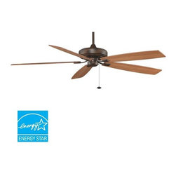 "Fanimation - Fanimation Edgewood Supreme 72"" 5 Blade Energy Star Ceiling Fan - Blades Include - Included Components:"