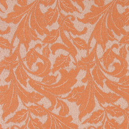 Orange Leaves Outdoor Indoor Marine Upholstery Fabric By The Yard - This material is an upholstery grade outdoor and indoor fabric. It is stain, water, mildew, bacteria and fading resistant. It is also Scotchgarded for further stain resistance and durability. This material is woven for superior appearance.
