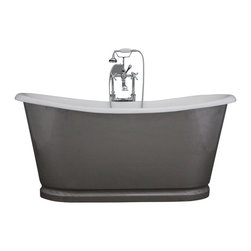 "Penhaglion - 'The Newminster' 68 "" Long Cast Iron Bathtub Package from Penhaglion - Product Details"