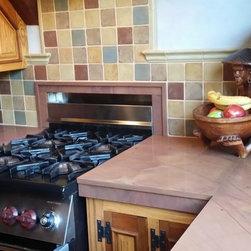 Kitchen Backsplash - Syzygy Tile