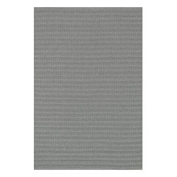 Loloi Rugs - Loloi Rugs Terra Graphite Contemporary Indoor / Outdoor Rug X-656300TG10-ETRRET - The simple pattern of this Loloi Rugs indoor / outdoor floor rug has been created through the use of hand woven construction. From the Terra Collection, the simple graphite coloring features shades of gray, silver and charcoal which give it versatility in any setting.