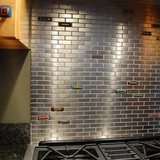Eclectic Tile by amydutton Home