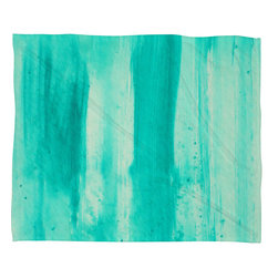 DENY Designs - Madart Inc Modern Dance Aqua Passion Fleece Throw Blanket - This DENY fleece throw blanket may be the softest blanket ever! And we're not being overly dramatic here. In addition to being incredibly snuggly with it's plush fleece material, it's maching washable with no image fading. Plus, it comes in three different sizes: 80x60 (big enough for two), 60x50 (the fan favorite) and the 40x30. With all of these great features, we've found the perfect fleece blanket and an original gift! Full color front with white back. Custom printed in the USA for every order.