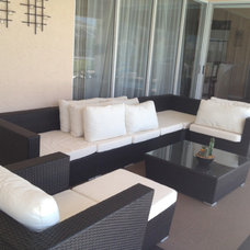 Contemporary Outdoor Sofas by Palm Beach Rattan