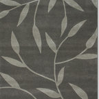 Vineworx area rug (5x8) - 5x8 Vineworx rug.  Our new Vineworx collection is a hand-tufted using quality wool and a blend of faux silk creating a striking effect. You can choose from the vine pattern or the stylized flower. Both are spectacular! Other sizes and patterns are available.