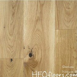 Garrison French Connection - French Connection Natural wire-brushed white oak hardwood. Available at HFOfloors.com.