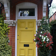 Traditional Front Doors by The Fanlight Number Co