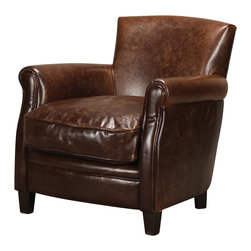 Sterling - Sterling 133-005 Moorings Leather Arm Chair By Sterling - Sterling 133-005 Moorings Leather Arm Chair By Sterling