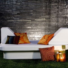 contemporary outdoor chaise lounges by Plushpod