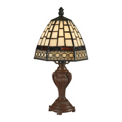 Z-Lite - Z-Lite Tabl Lamp X-LTM5-6Z - Mini Tiffany Lamps are available individually or purchase this set of 12 and save. Set includes 2 of each mini lamp shown on this page. 12 PACK ORDER# MINILAMPS4