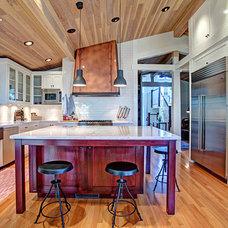 Craftsman Kitchen by Skeels Design / Architecture