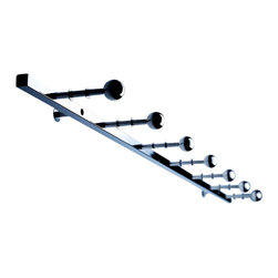 Radius Design - Coat Rack Z - A friendly welcome to a house, apartment, office or practice earns you your first bonus points. The attractive Coat Rack Z by Radius Design is eye-catching and suitable for every garment.