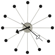 Midcentury Wall Clocks by Interior Clue