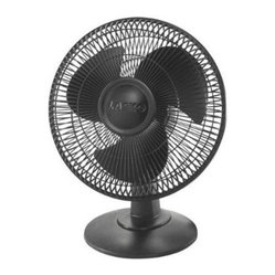 "Lasko Products - 12"" Table Fan 3 Speed Black - Black 12"" Table Fan with 3 Quiet Speeds  Wide area oscillation  Tilt-back Feature  Easy-Grip Rotary Control  Simple ""No Tool"" Assembly  ETL Listed  Ideal for All Rooms.  This item cannot be shipped to APO/FPO addresses. Please accept our ap"