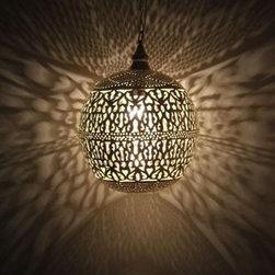 Moroccan Pendant Lamp - Beautiful Pendant lamp, hand made in Egypt.