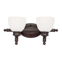 Trans Globe Lighting - Trans Globe Lighting 34142 ROB Bathroom Light In Rubbed Oil Bronze - Part Number: 34142 ROB