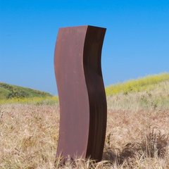 contemporary garden sculptures by TerraSculpture