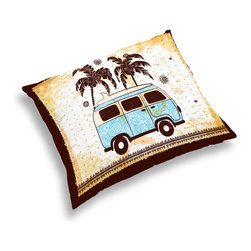 "2014 ""Surf Bus"" Surfer Bedding and Bath Collection -"