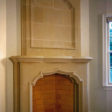 Traditional Fireplace Accessories by oldworldstoneworks.com